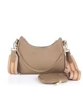 Fashion-Click Tas Pochette Khaki