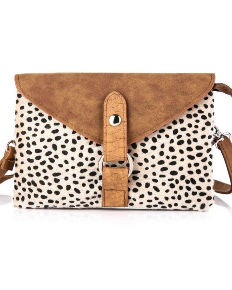 Fashion-Click Tasje Cheetah Bruin