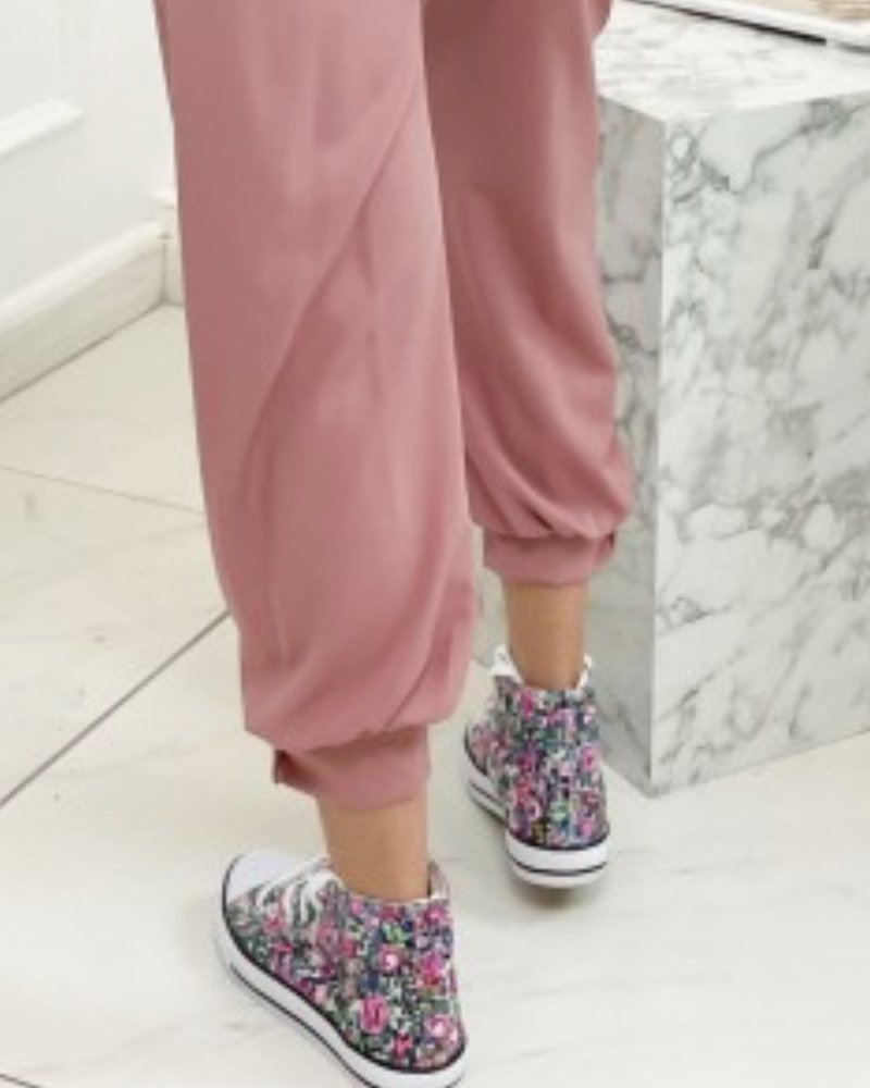 Fashion-Click Sneakers Flowers