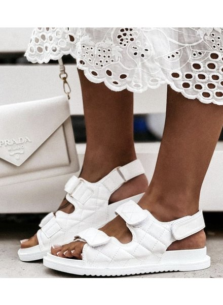 Fashion-Click Sandalen Coco White