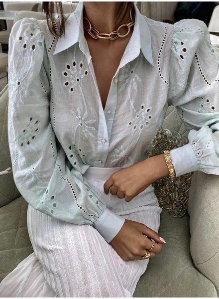 Fashion-Click Blouse Eloise Mint