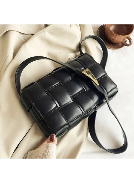 Fashion-Click Tas It Girl  Zwart