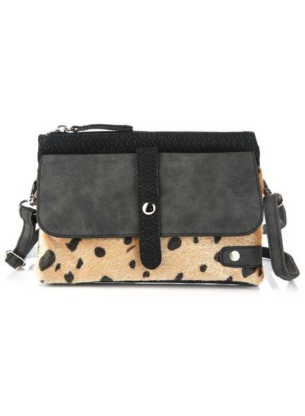 Fashion-Click Tas Cheetah Perfection Black