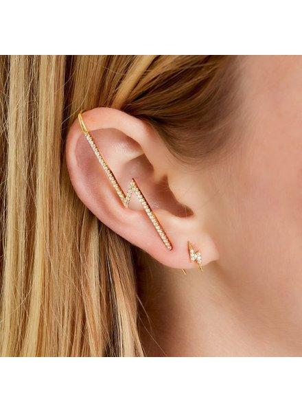 Fashion-Click Ear Crawler Thunder