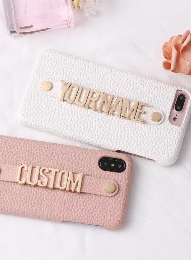 Iphone Hoesje Custom Made Naam
