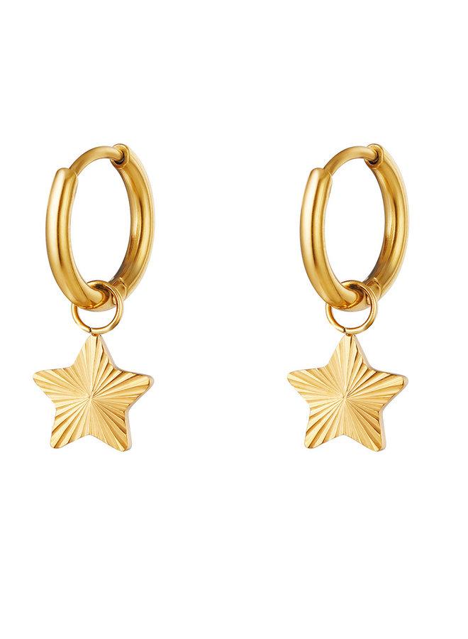Oorbellen Star Rings