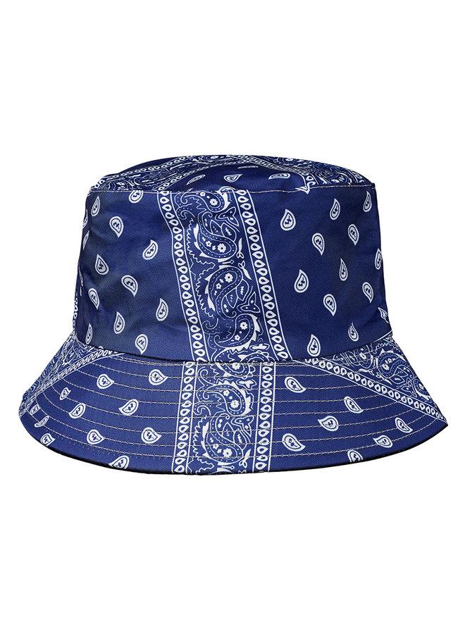 Buckle Hat Bandana Blauw