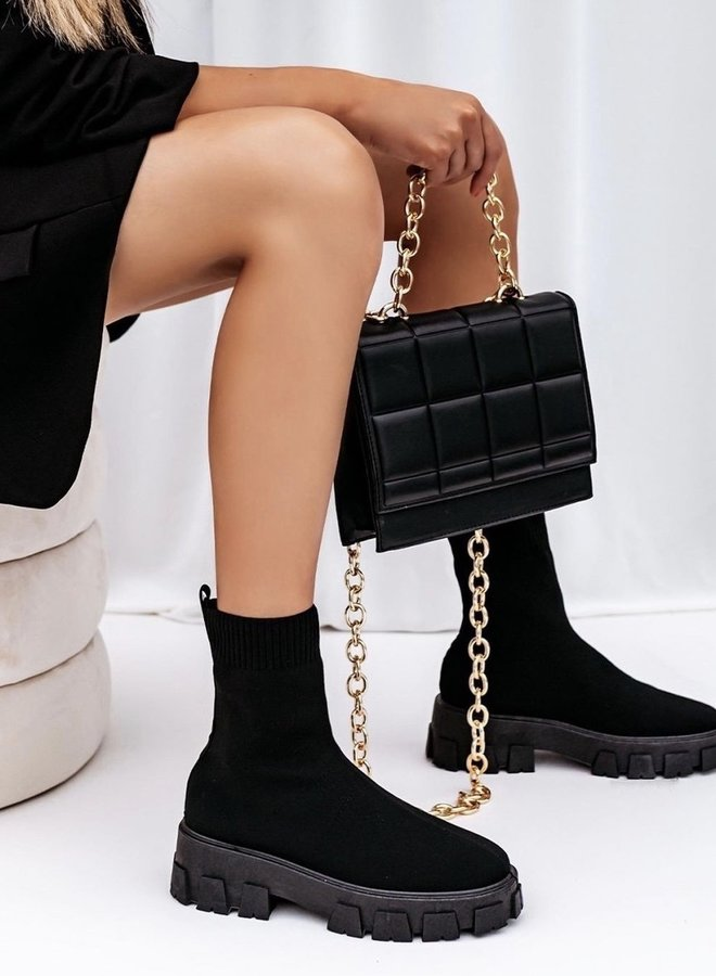 Sock Boots Zwart