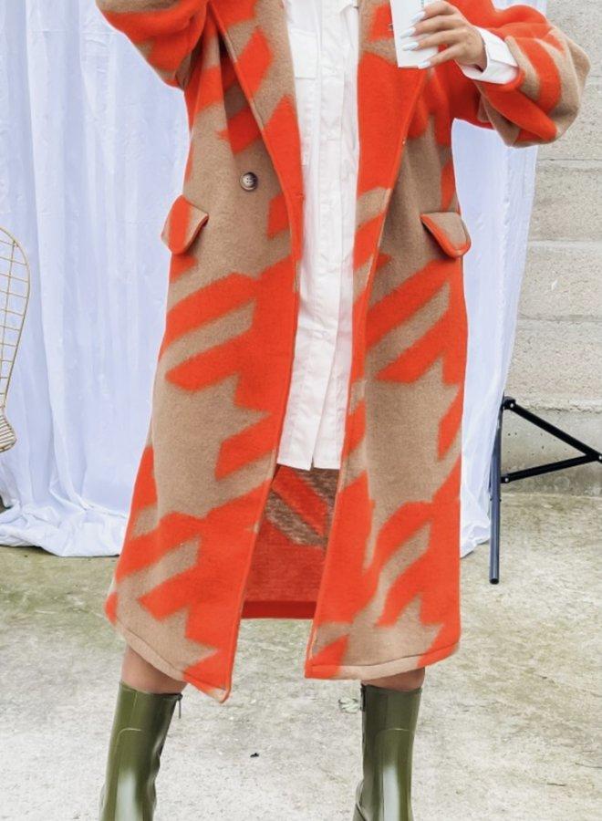 Jas It Girl Oranje / Camel