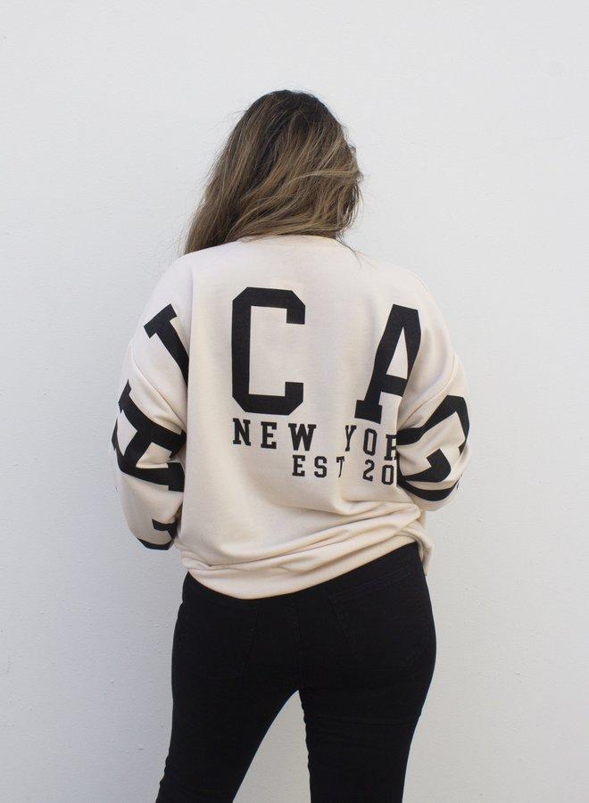 Sweater Chicago Beige