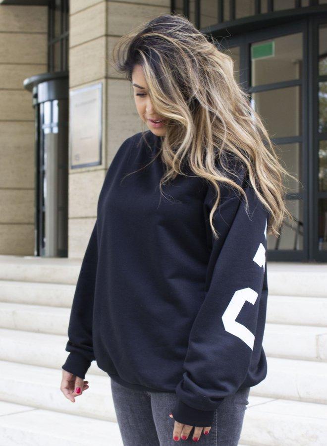 Sweater Chicago Zwart