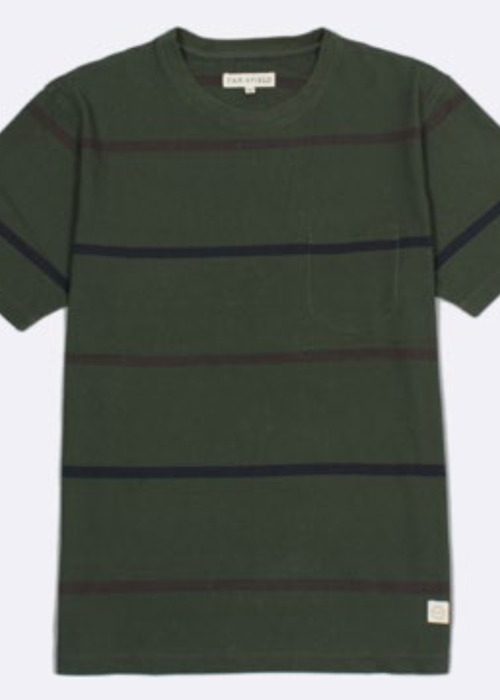 Far Afield Dos Stripe T-Shirt