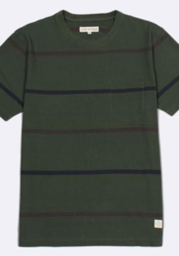 Dos Stripe T-Shirt