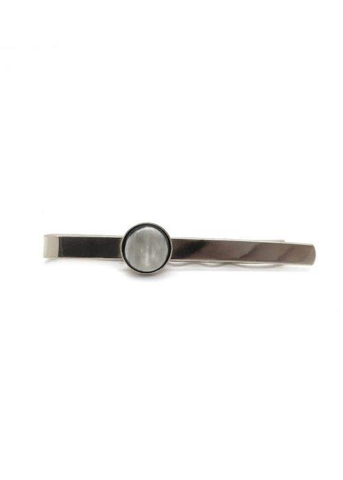 Lartisan Createur Pince à Cravate ronde silver