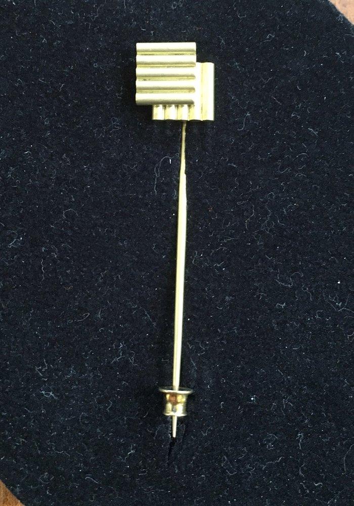 Hypno pin Gold