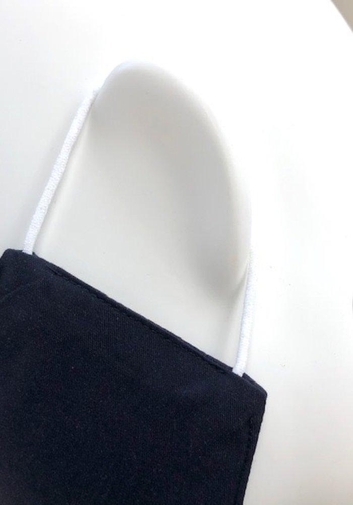 Mondmasker zonder optie filter Donkerblauw