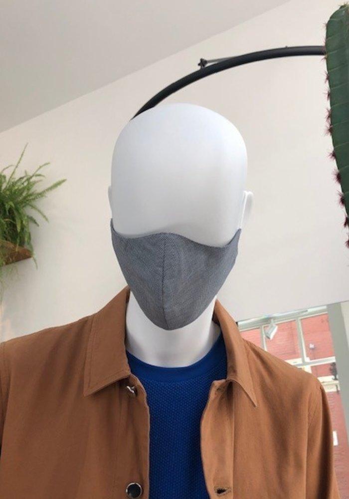 Mondmasker zonder optie filter Grijs