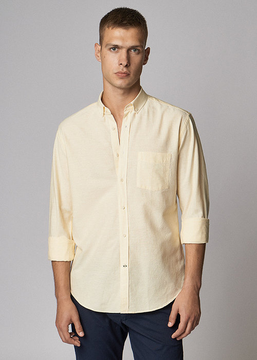 Carpasus Bernina Striped Cotton Shirt
