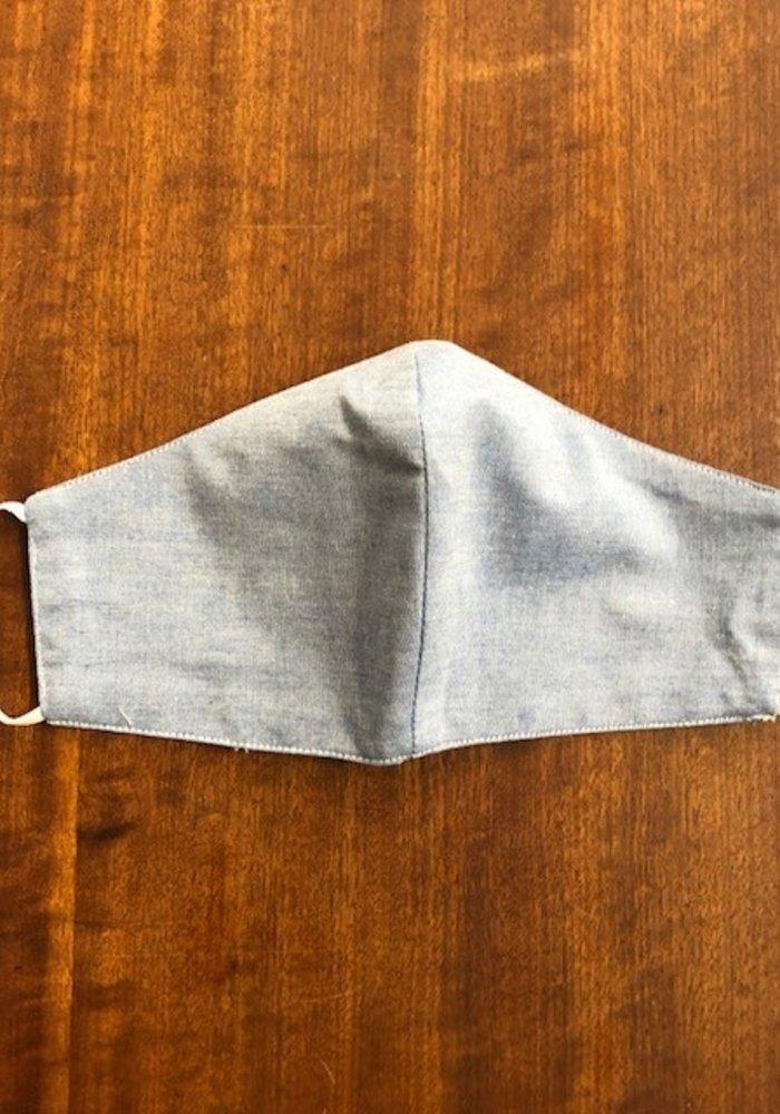 Mondmasker zonder optie filter Licht Jeansblauw