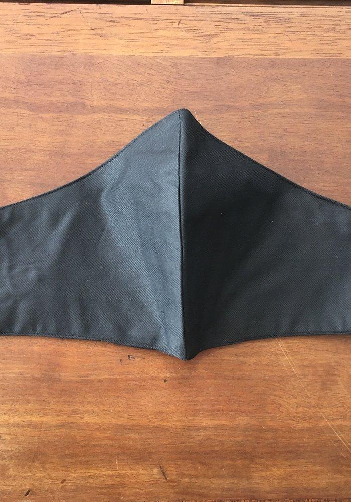 Mondmasker met optie filter Zwart