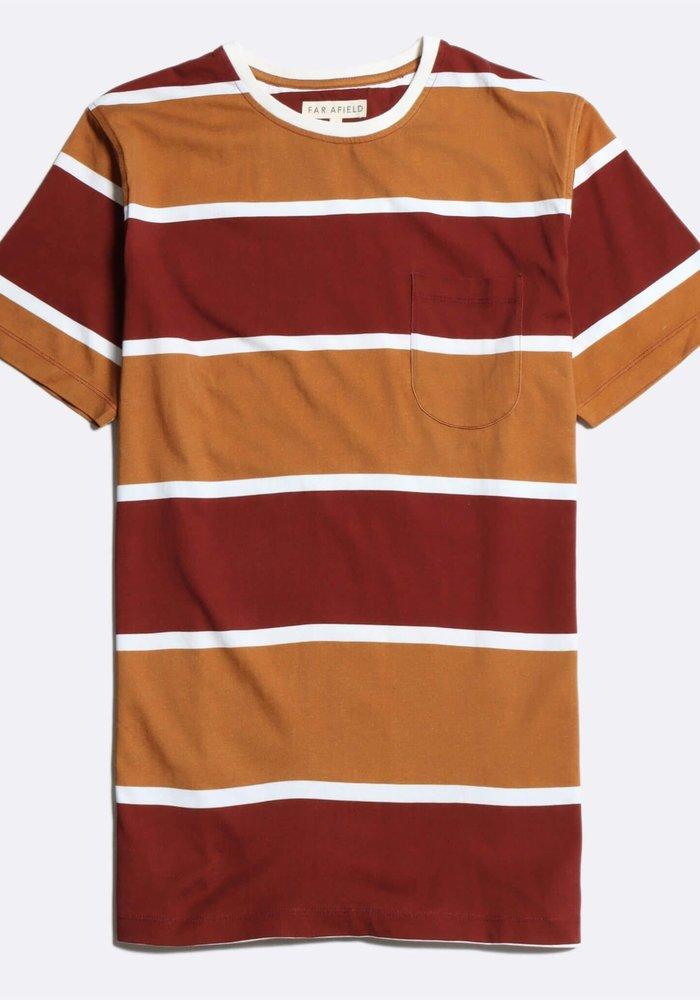 DOS striped tee