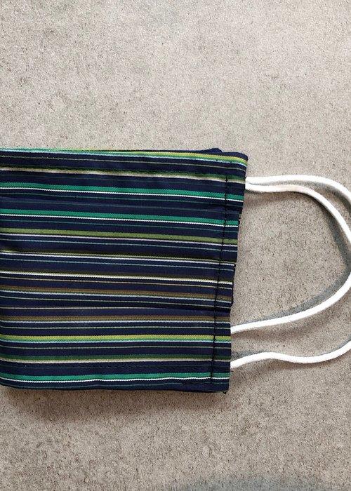 Lost in Pablos Mondmasker Enveloppe model/ filter Green Stripes SC0402