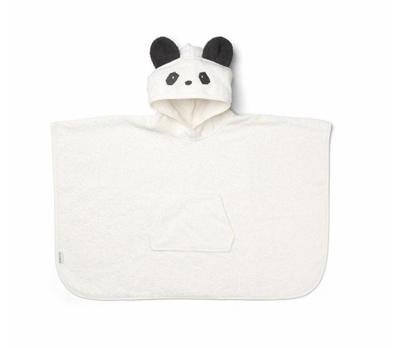 Badstof poncho panda