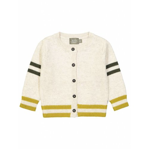 Kidscase Gebreid Vest Off-White