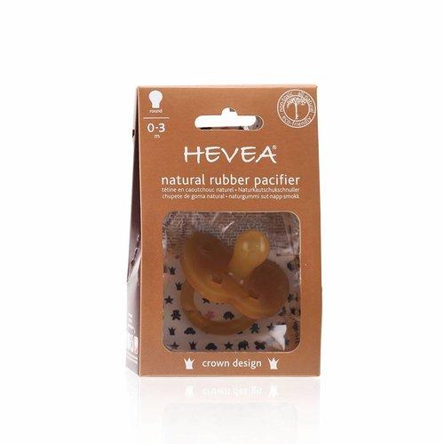 Hevea Speen Crown Design 0-3 maanden (round)