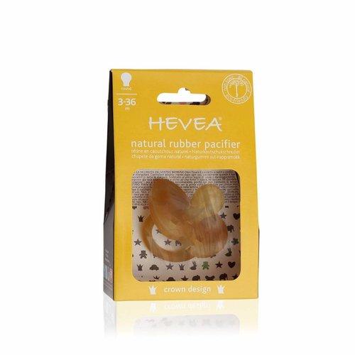 Hevea Speen Crown Design 3-36 maand (round)