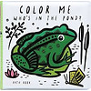 Wee Gallery Bath Book Colour me Pond
