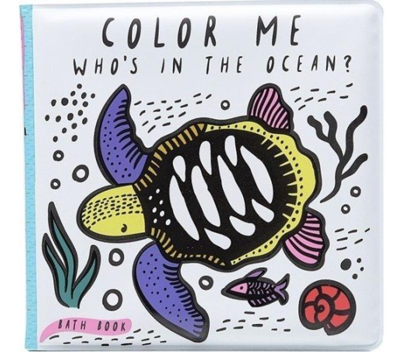 Bath Book Colour Me Ocean