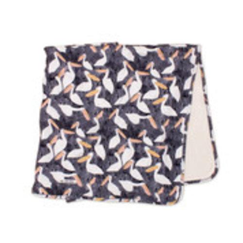 Noé & Zoë Blanket Black Stork
