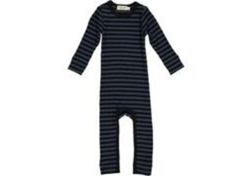 MarMar  Bodysuit Modal Stripes Black/Blue
