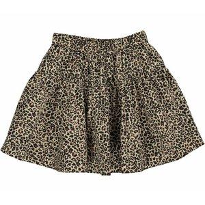 Light Leopard Skirt Brown Leo