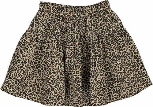 MarMar  Light Leopard Skirt Brown Leo
