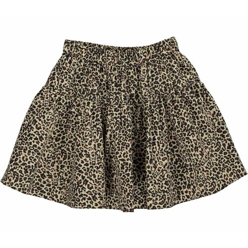 MarMar  Light Leopard Skirt Brown Leo