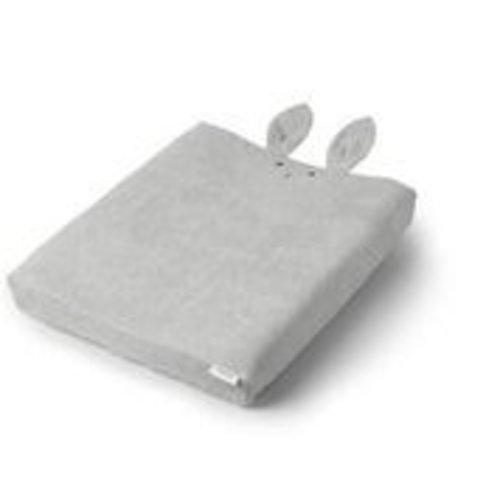 LIEWOOD Egon aankleed kussenhoes konijn grijs