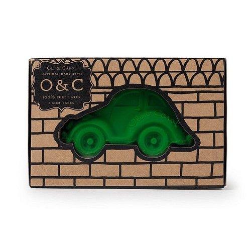 Oli & Carol Badspeeltje Oli & Carol auto groen