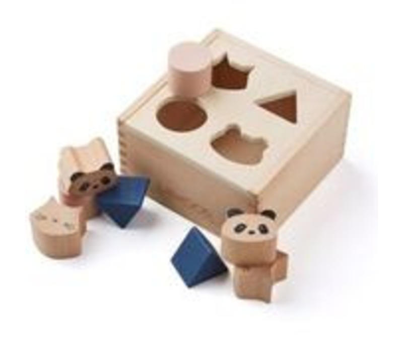 Liewood Wood box puzzle