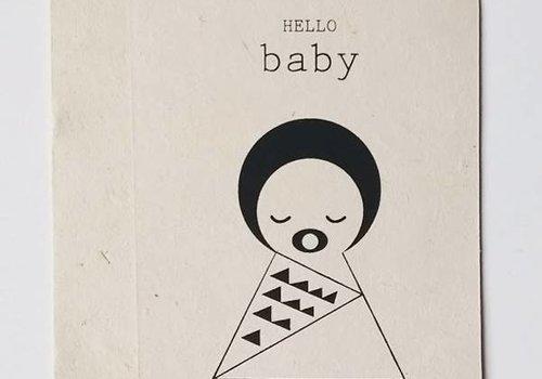 Sagström & Co Kaart Hello Baby