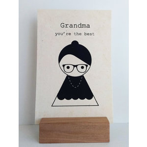 Sagström & Co Kaart Grandma