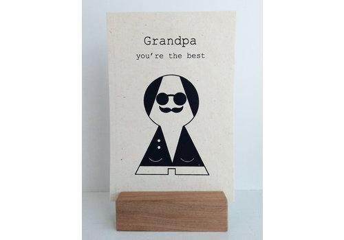 Sagström & Co Kaart Grandpa