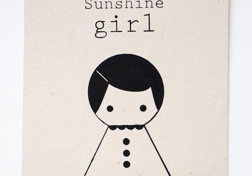 Sagström & Co A4 Poster Girl