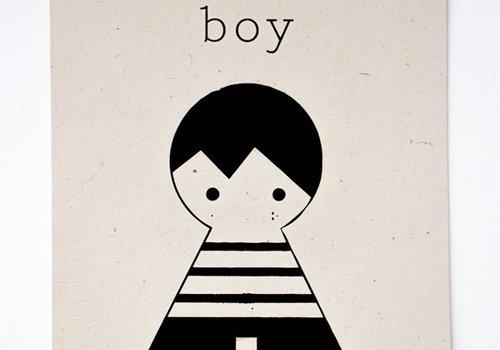 Sagström & Co A4 Poster Boy