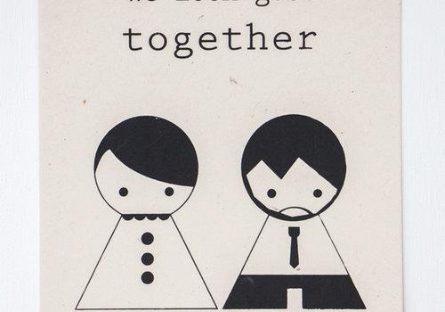 Sagström & Co A4 Poster Together