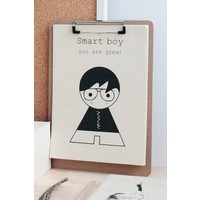 Sagstrom and Co A4 Poster Smart Boy