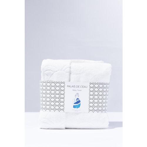 Palais de L'eau Babytowel: baby handdoek wit