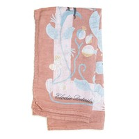 Bamboo Swaddle Faded Rose Bells 80 x 80cm