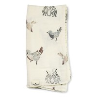 Bamboo Swaddle Feathered Friend 80 x 80cm